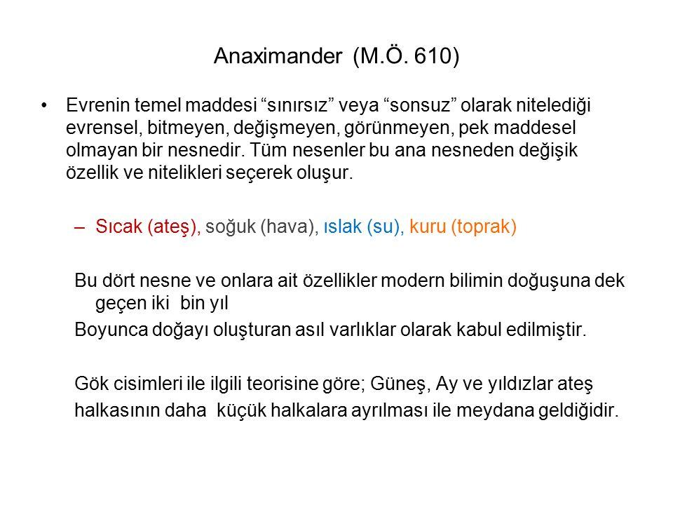 Anaximander (M.Ö. 610)