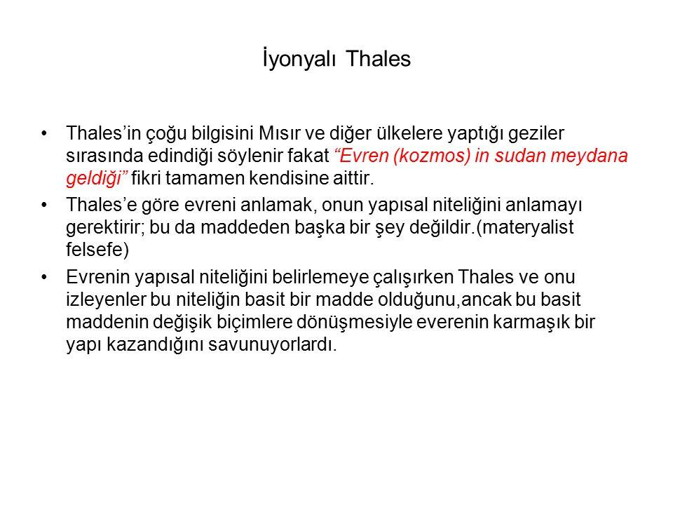 İyonyalı Thales