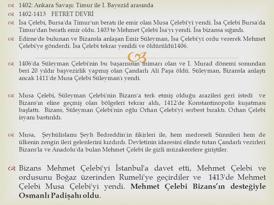 1402: Ankara Savaşı: Timur ile I. Bayezid arasında