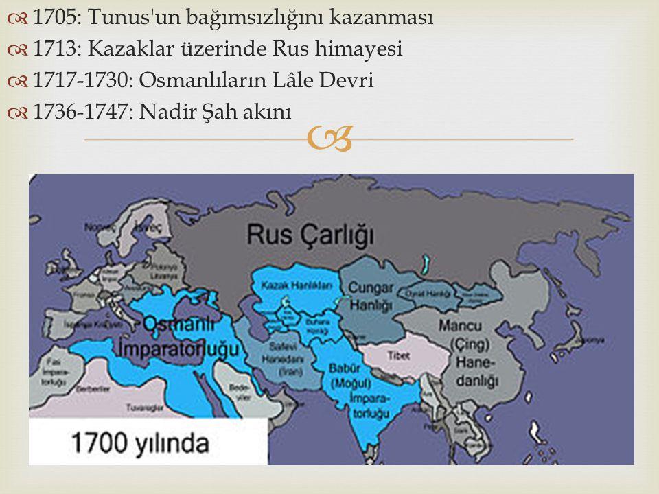 1705: Tunus un bağımsızlığını kazanması