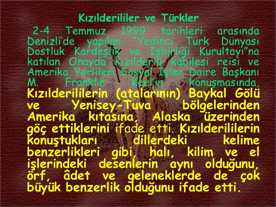 Kızılderililer ve Türkler