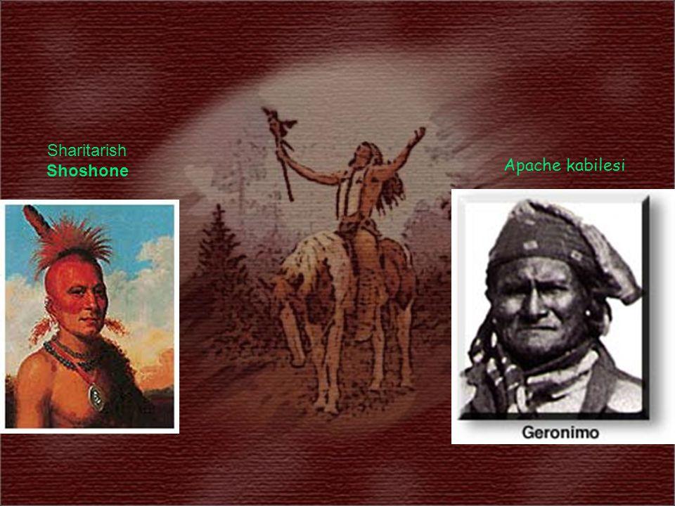 Apache kabilesi Sharitarish Shoshone
