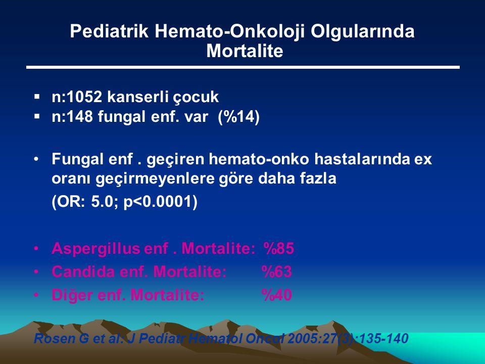 Pediatrik Hemato-Onkoloji Olgularında