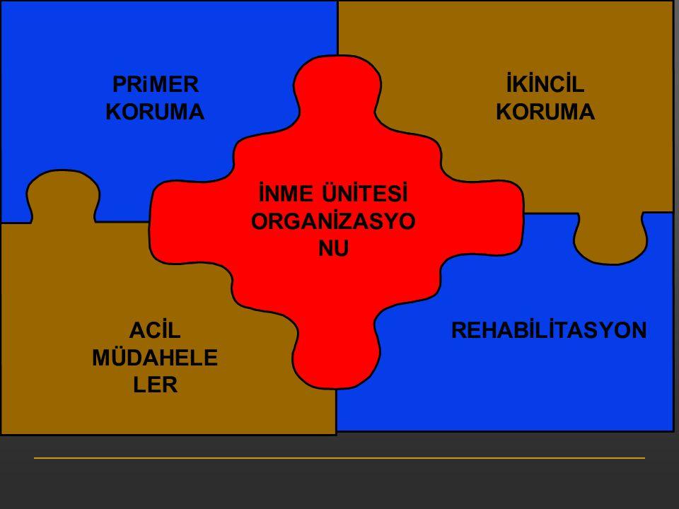 İNME ÜNİTESİ ORGANİZASYONU
