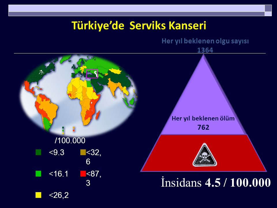 Türkiye'de Serviks Kanseri