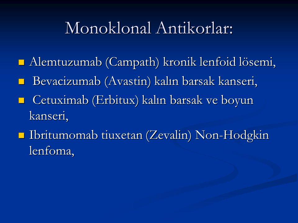 Monoklonal Antikorlar: