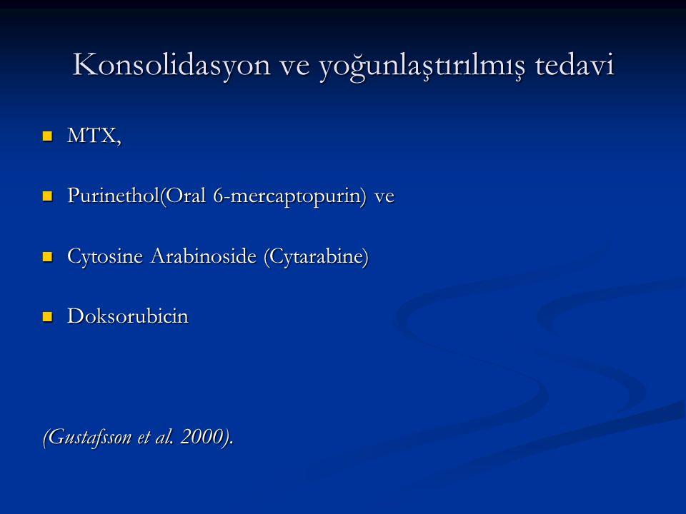 Konsolidasyon ve yoğunlaştırılmış tedavi
