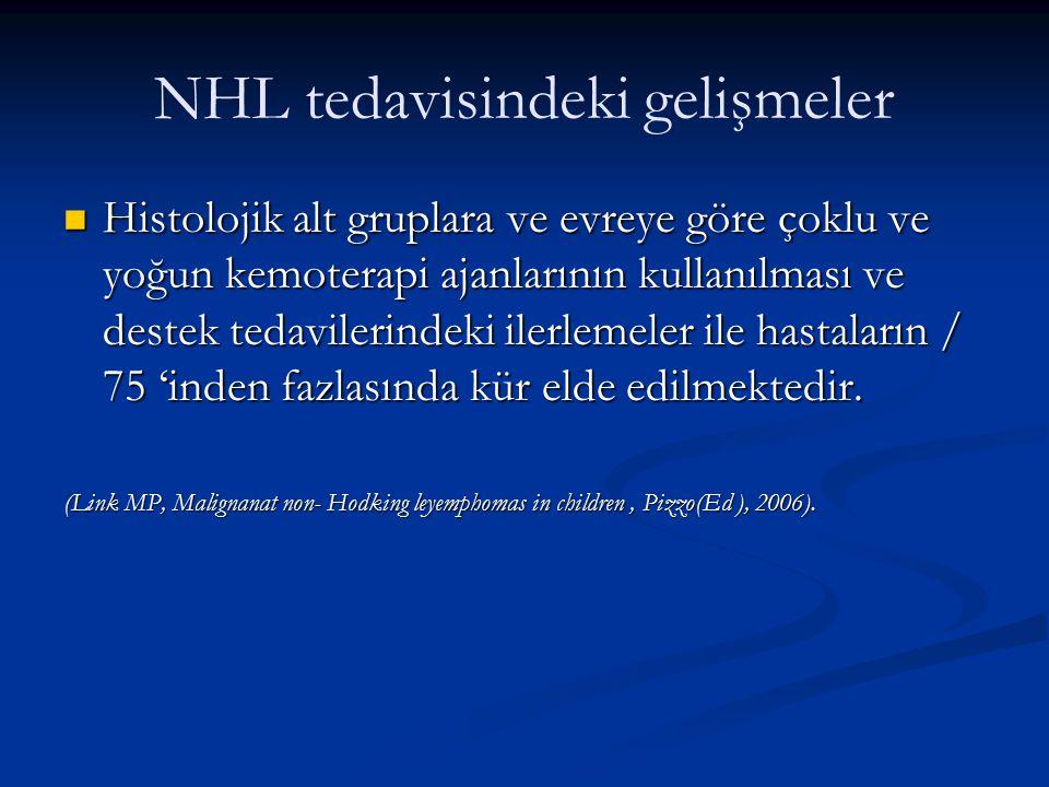 NHL tedavisindeki gelişmeler