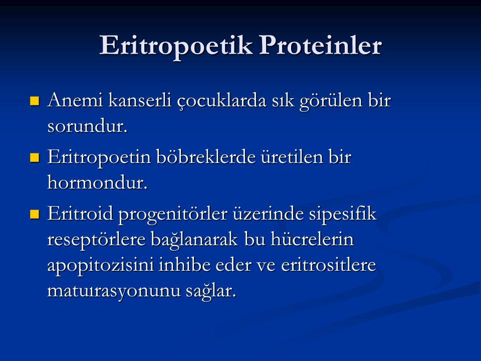 Eritropoetik Proteinler