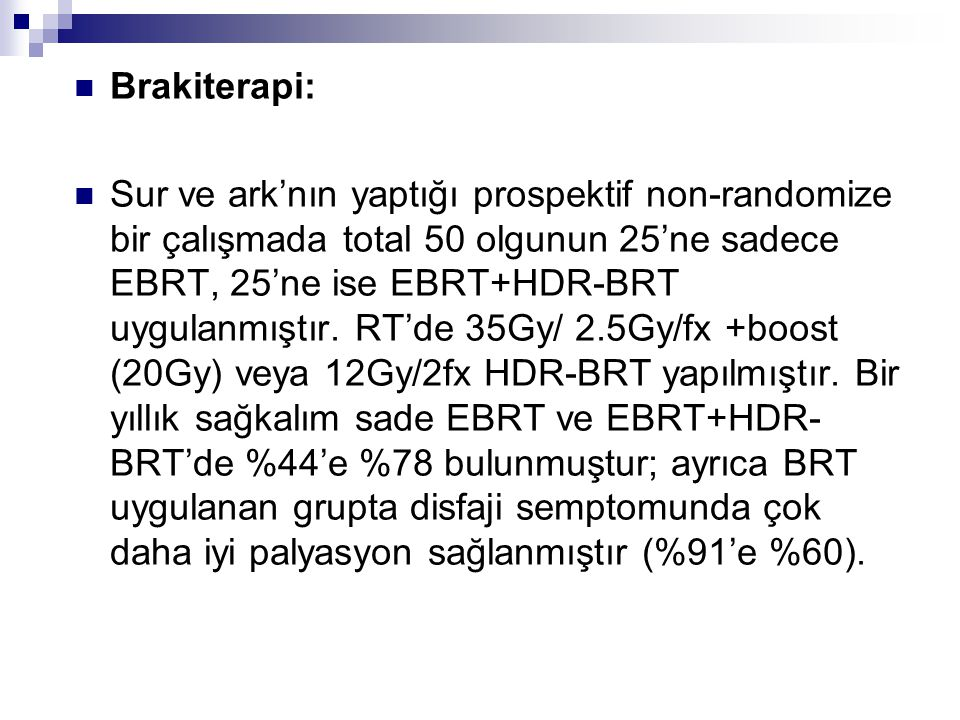 Brakiterapi: