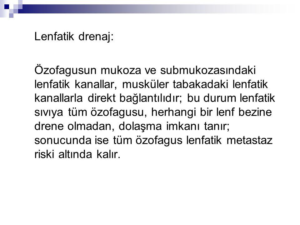 Lenfatik drenaj: