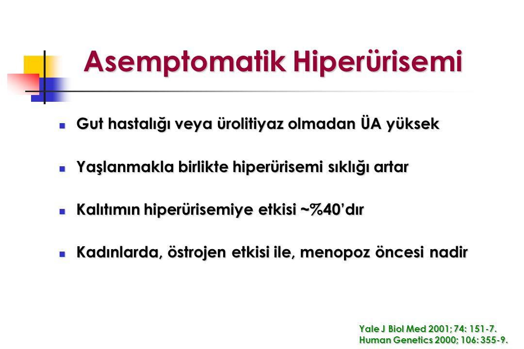 Asemptomatik Hiperürisemi