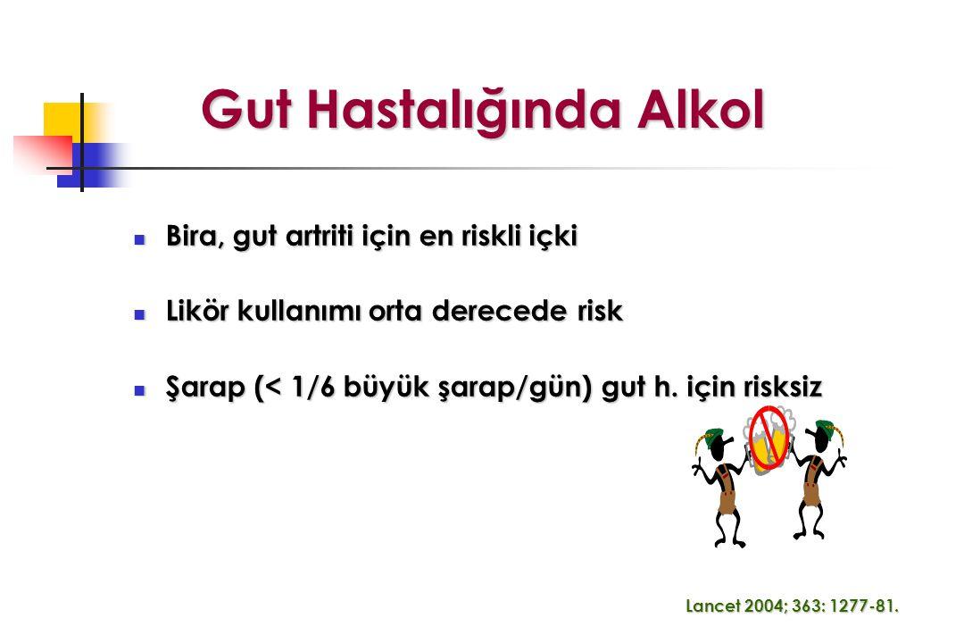 Gut Hastalığında Alkol
