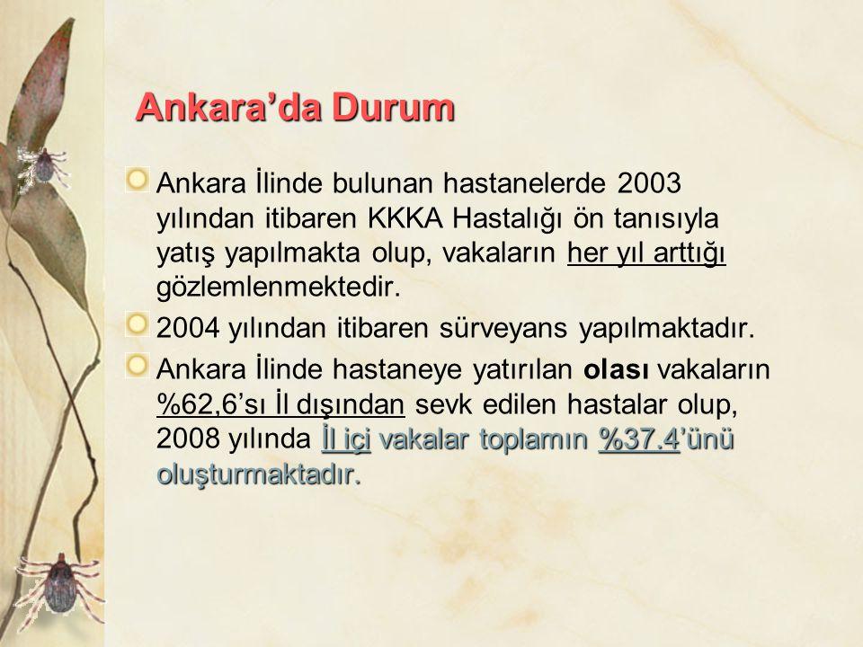 Ankara'da Durum