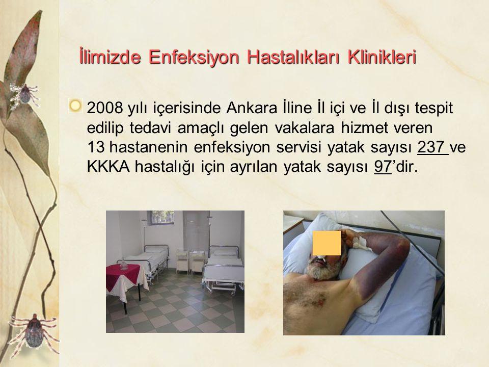 İlimizde Enfeksiyon Hastalıkları Klinikleri
