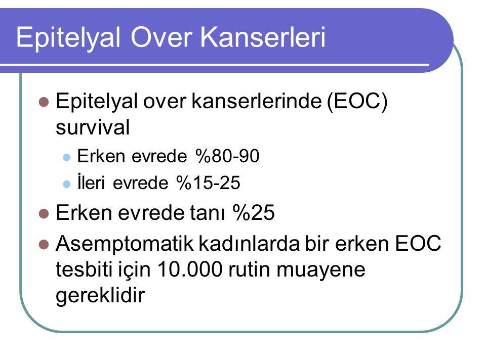 Epitelyal Over Kanserleri