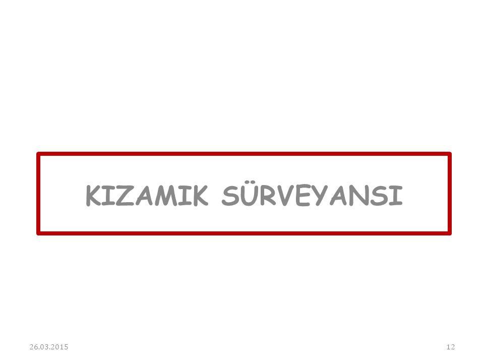 KIZAMIK SÜRVEYANSI 08.04.2017