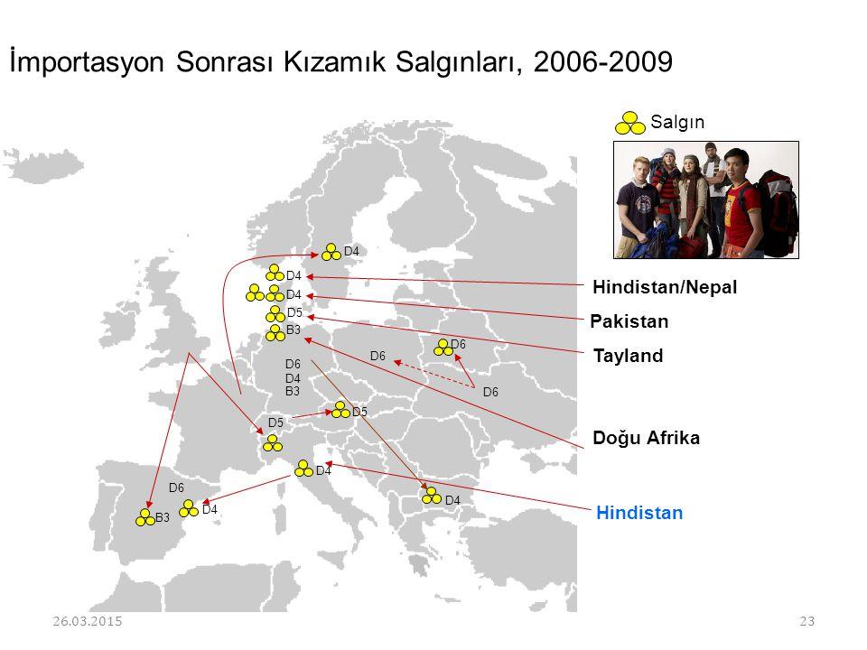 İmportasyon Sonrası Kızamık Salgınları, 2006-2009