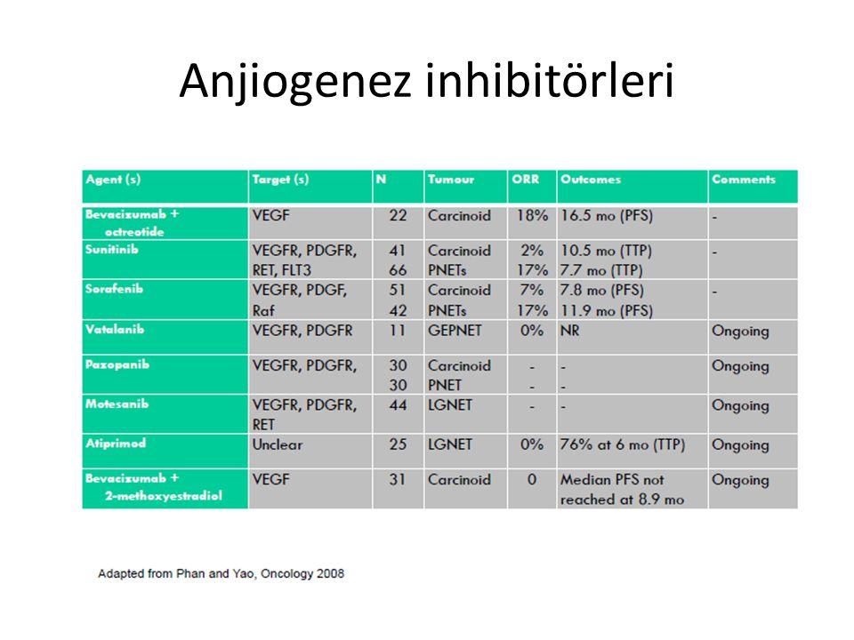 Anjiogenez inhibitörleri