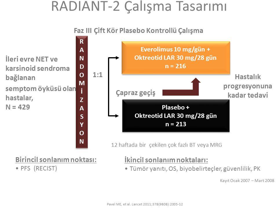 RADIANT-2 Çalışma Tasarımı