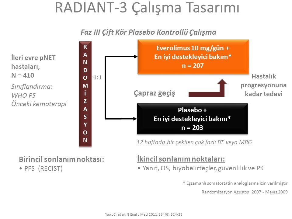 RADIANT-3 Çalışma Tasarımı