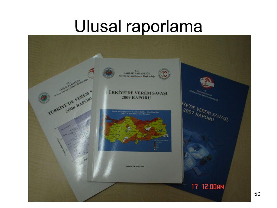 Ulusal raporlama