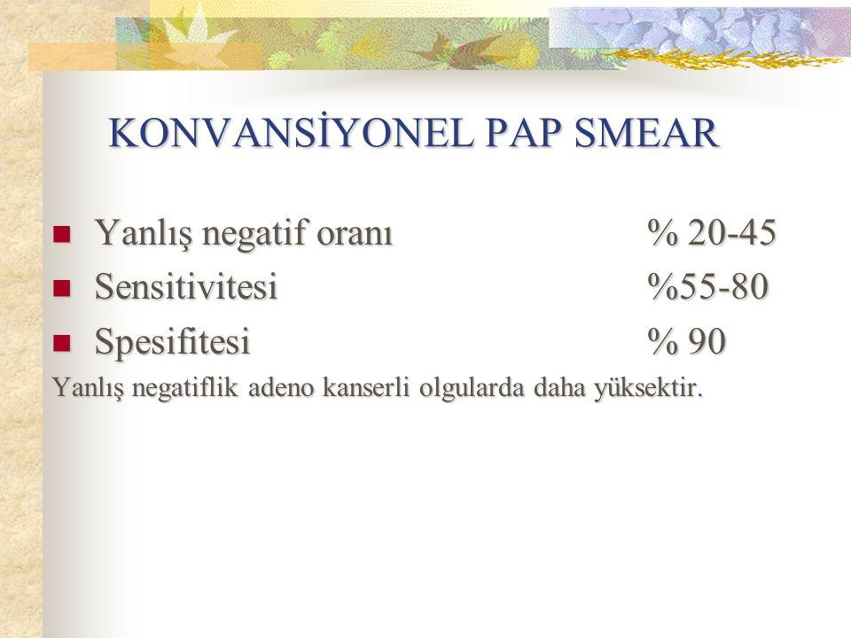 KONVANSİYONEL PAP SMEAR