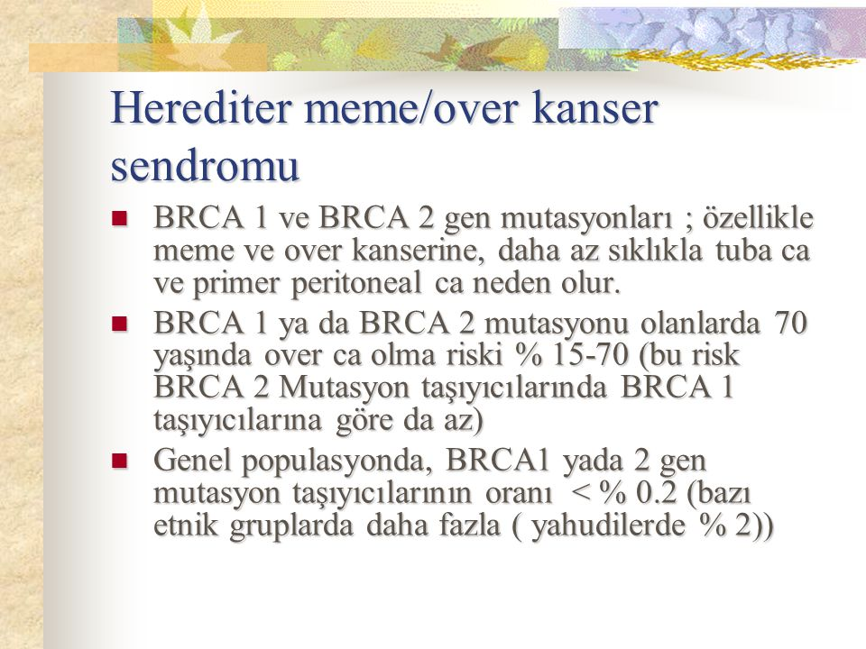 Herediter meme/over kanser sendromu