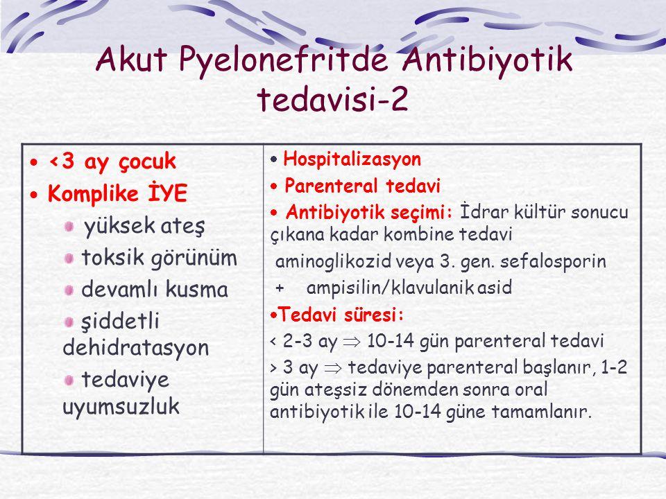 Akut Pyelonefritde Antibiyotik tedavisi-2