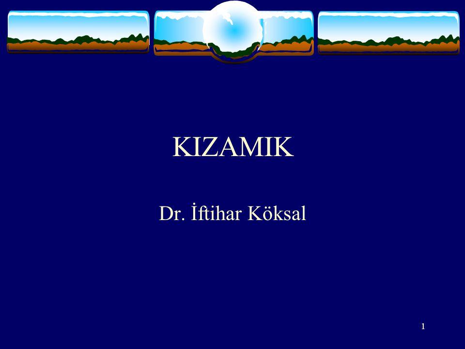 KIZAMIK Dr. İftihar Köksal