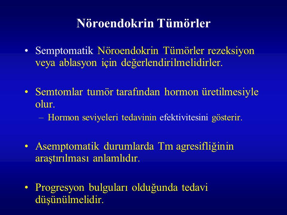 Nöroendokrin Tümörler
