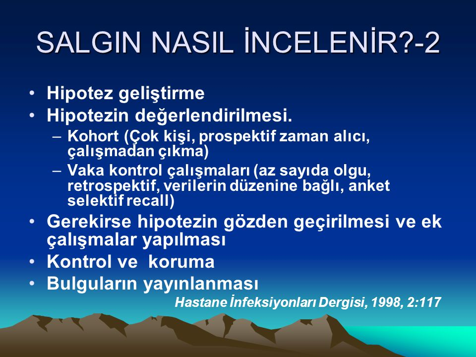 SALGIN NASIL İNCELENİR -2