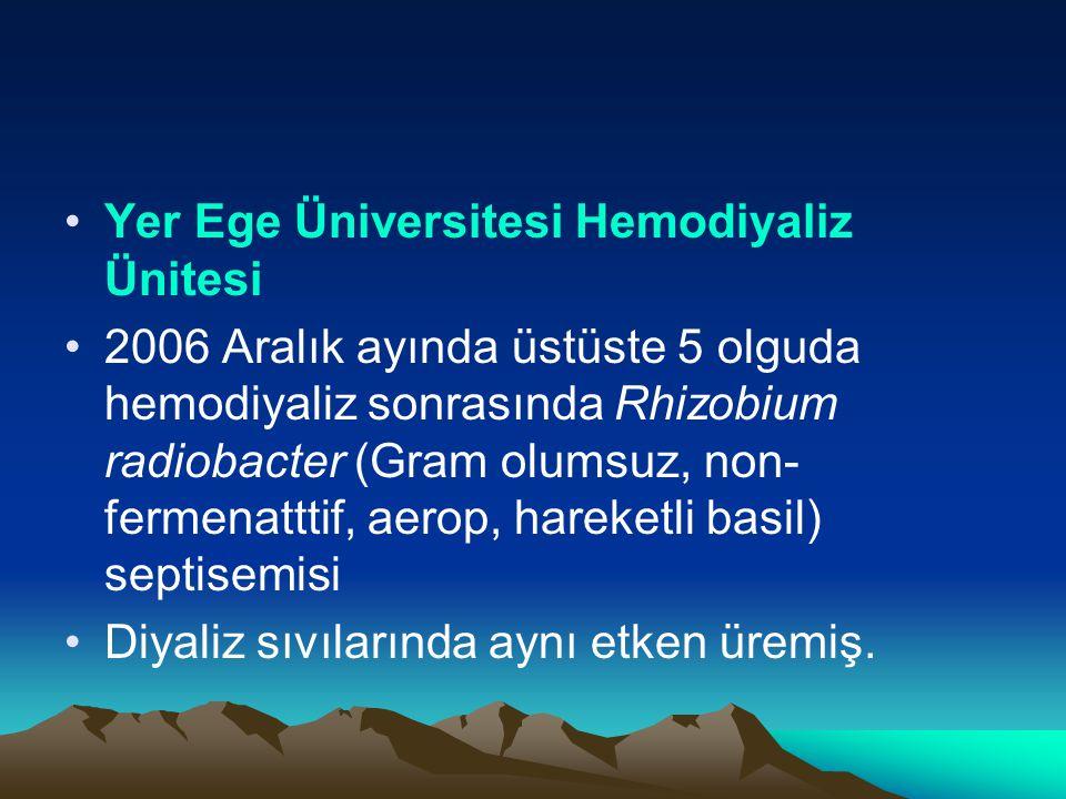 Yer Ege Üniversitesi Hemodiyaliz Ünitesi