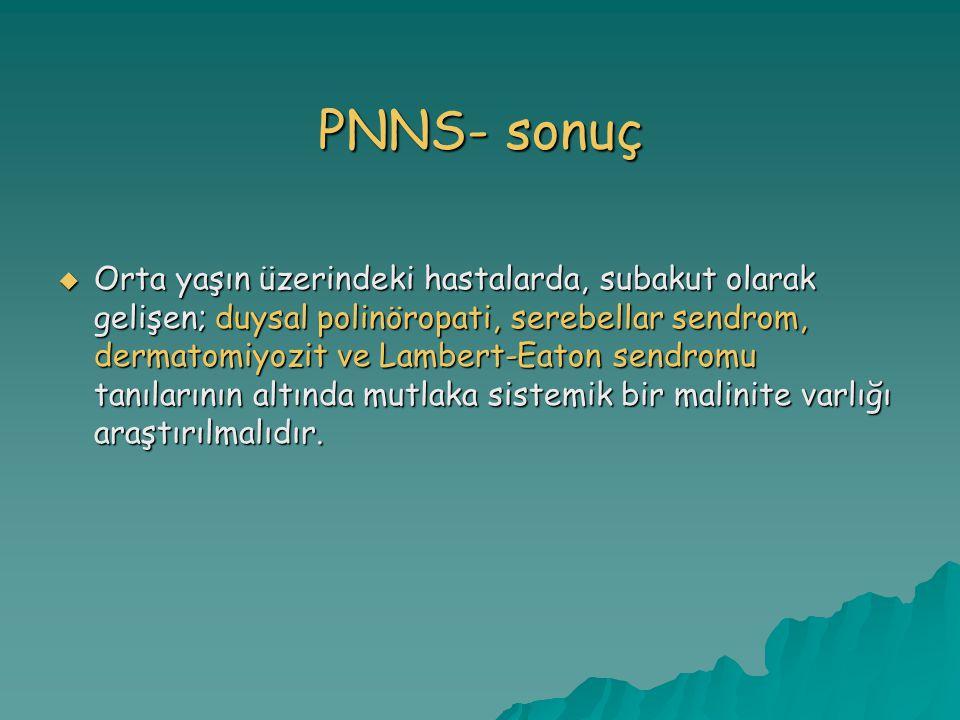 PNNS- sonuç