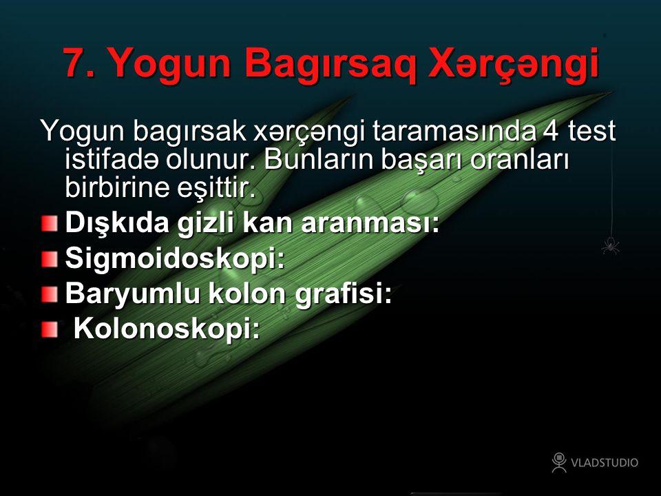 7. Yogun Bagırsaq Xərçəngi