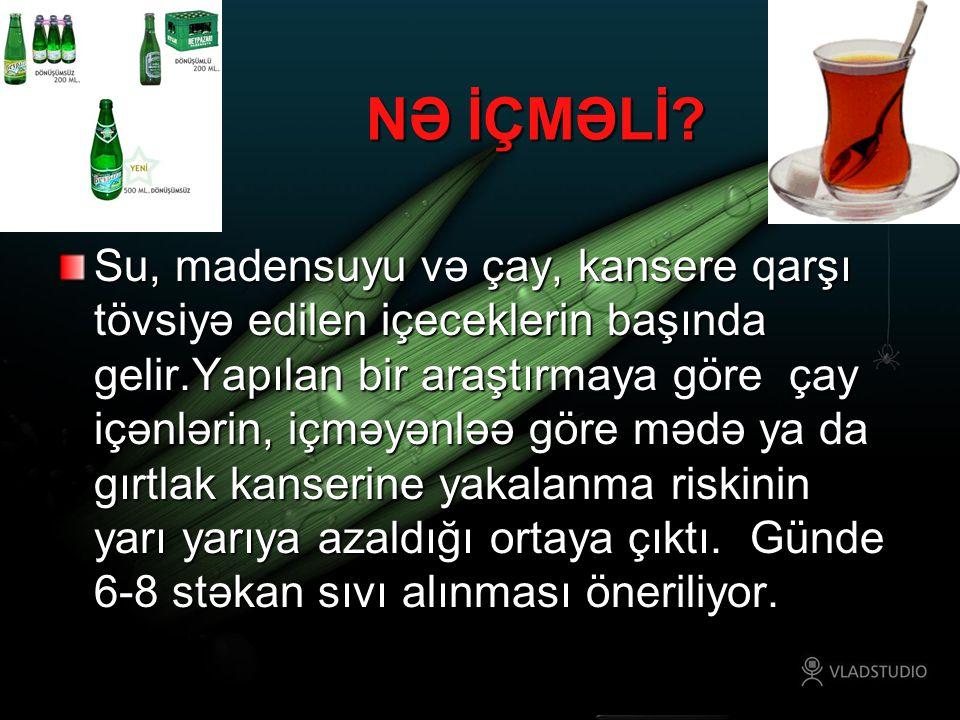 NƏ İÇMƏLİ