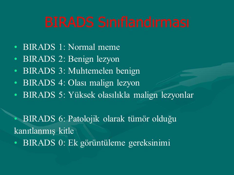 BIRADS Sınıflandırması