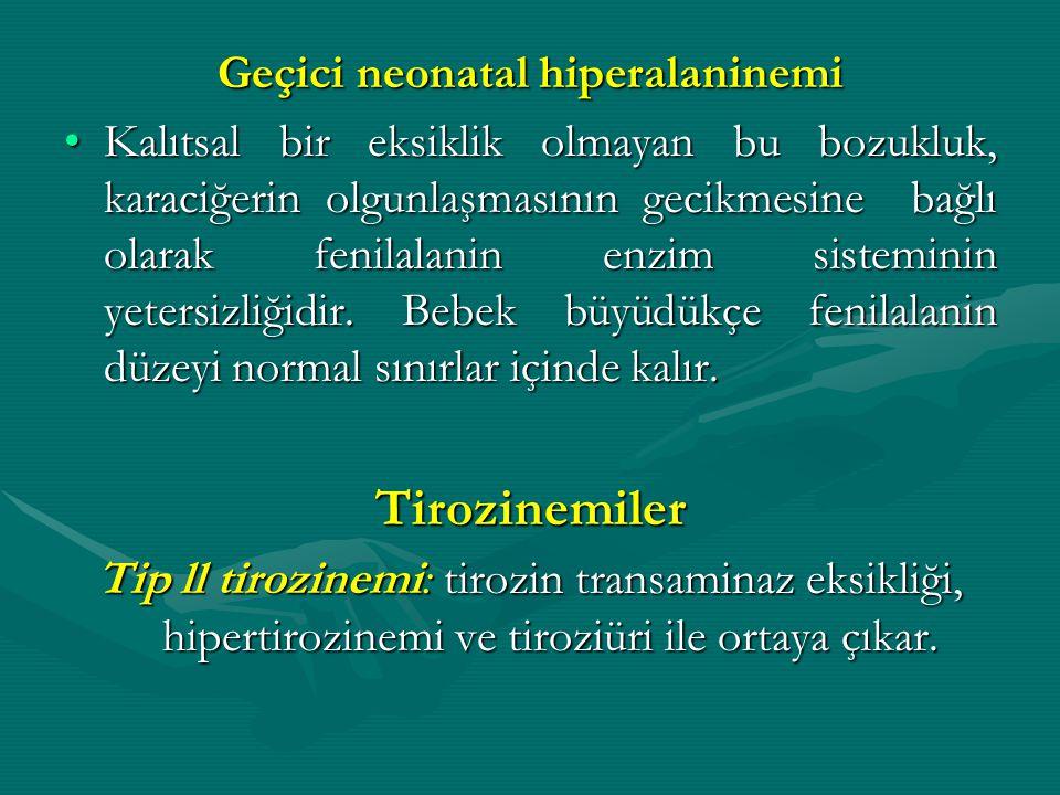 Geçici neonatal hiperalaninemi