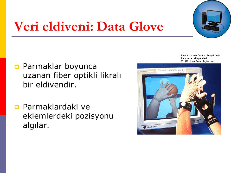 Veri eldiveni: Data Glove