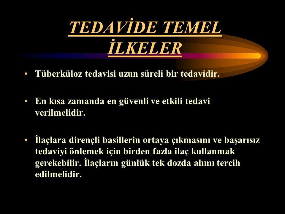 TEDAVİDE TEMEL İLKELER