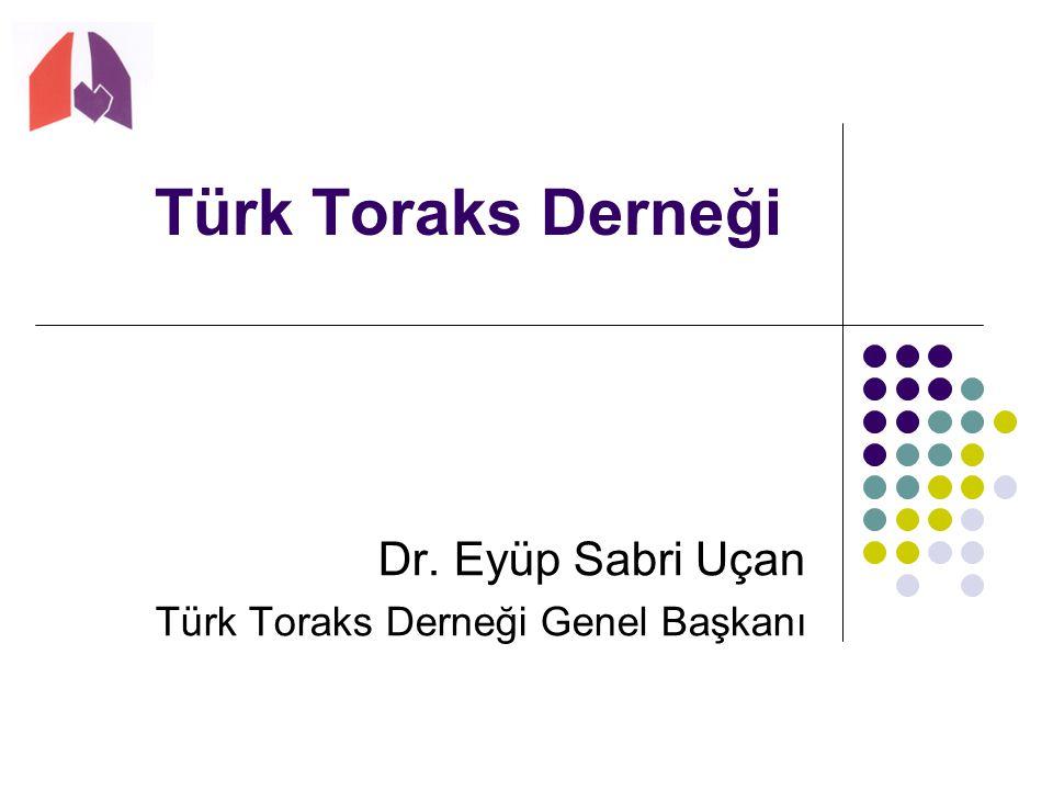 Dr. Eyüp Sabri Uçan Türk Toraks Derneği Genel Başkanı