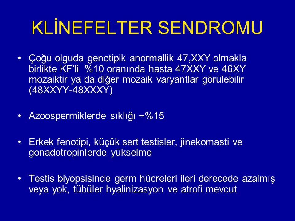 KLİNEFELTER SENDROMU