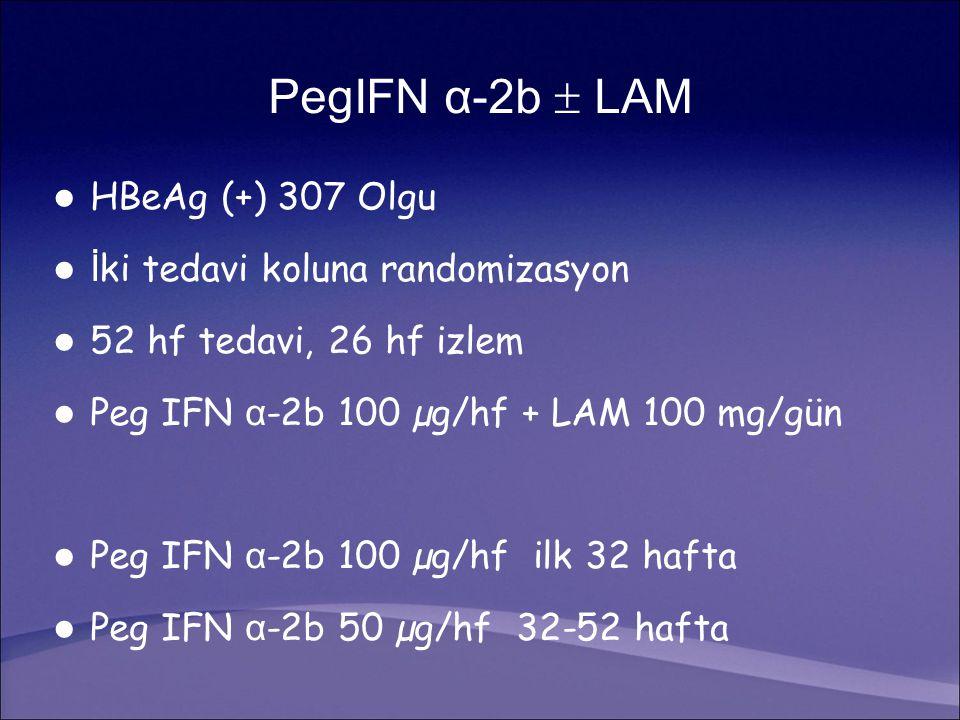 İki tedavi koluna randomizasyon 52 hf tedavi, 26 hf izlem