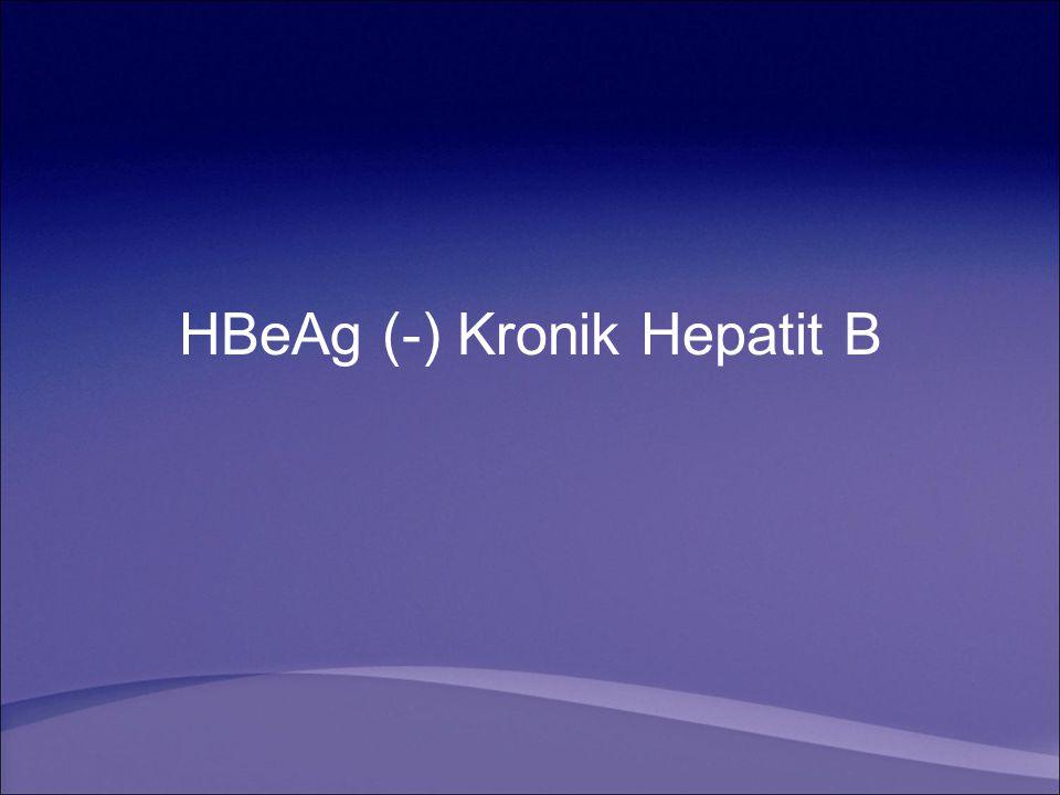 HBeAg (-) Kronik Hepatit B