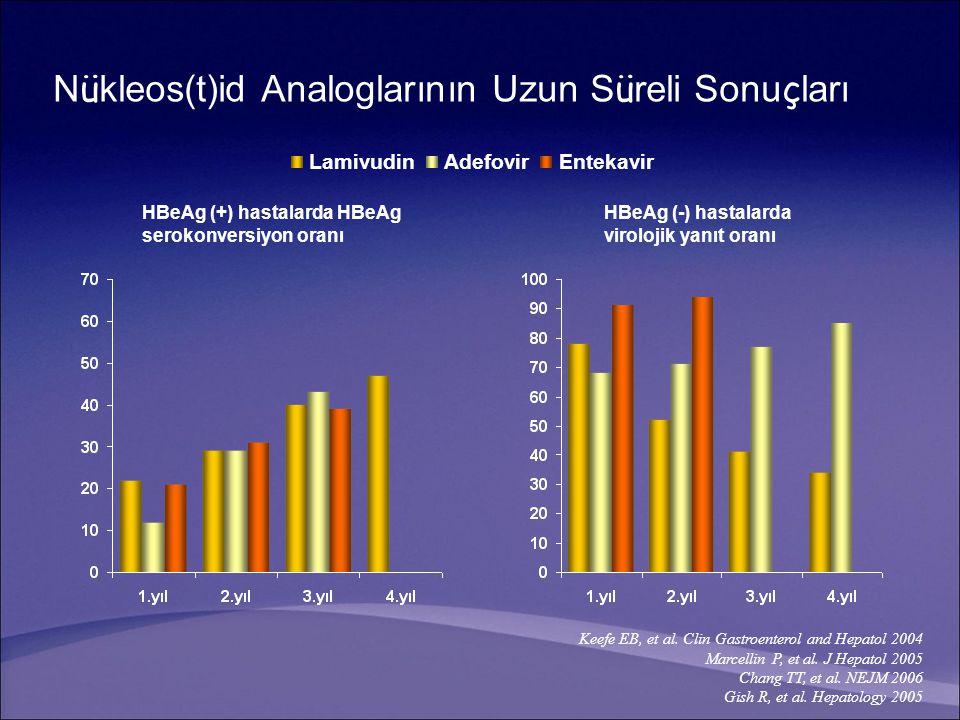 Nükleos(t)id Analoglarının Uzun Süreli Sonuçları