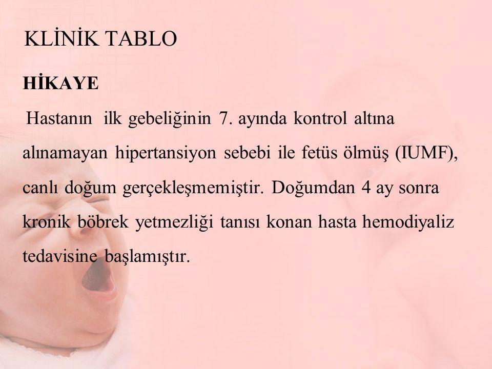KLİNİK TABLO HİKAYE.