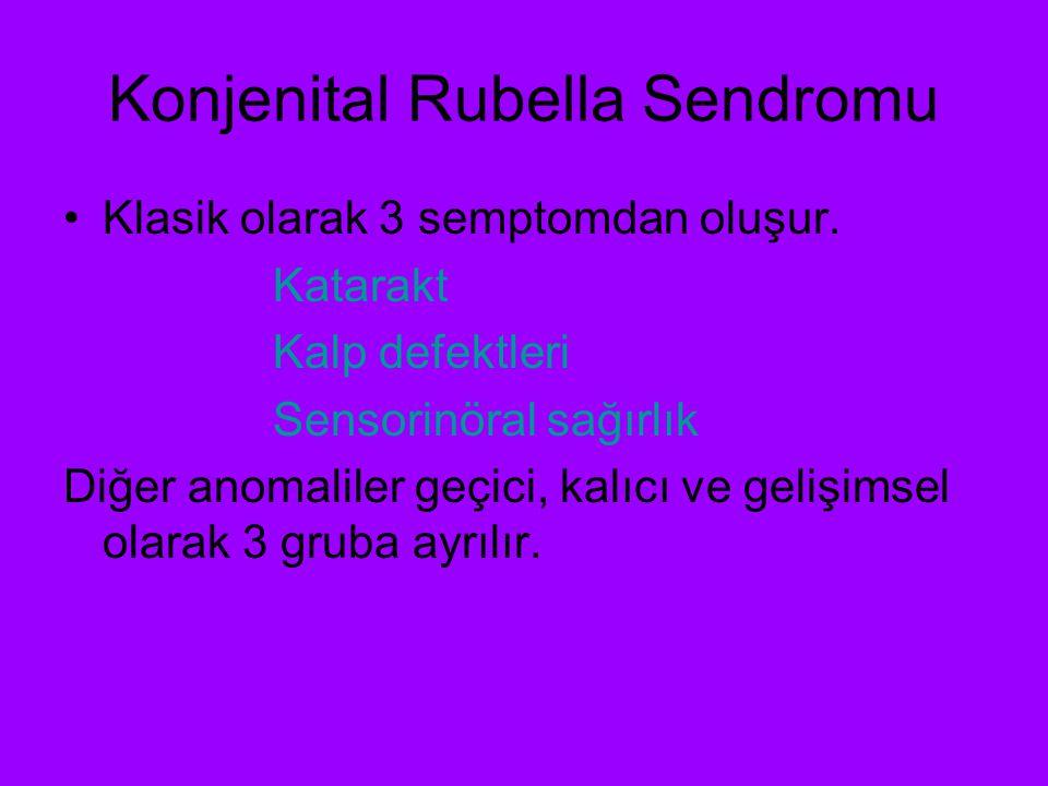 Konjenital Rubella Sendromu