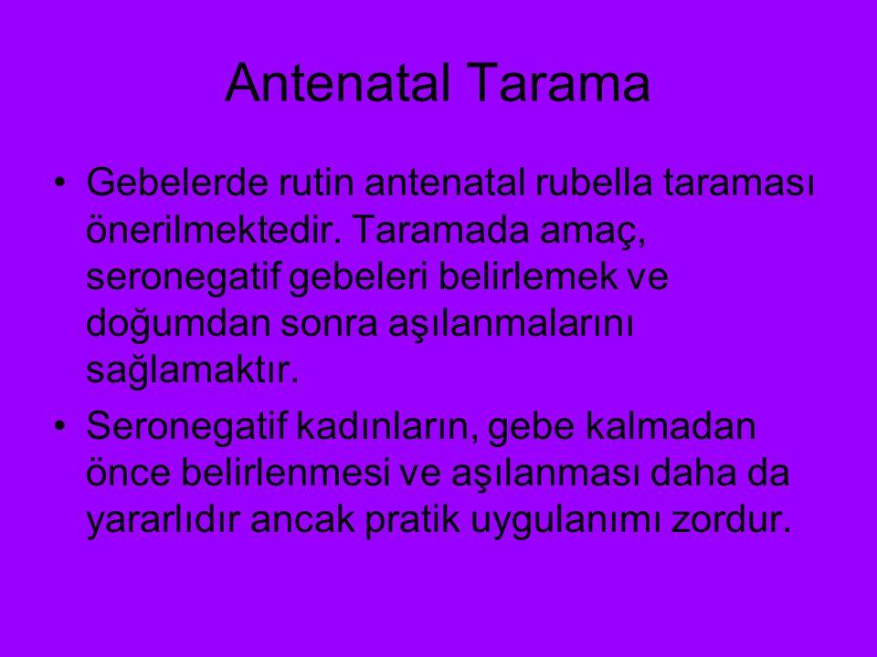 Antenatal Tarama