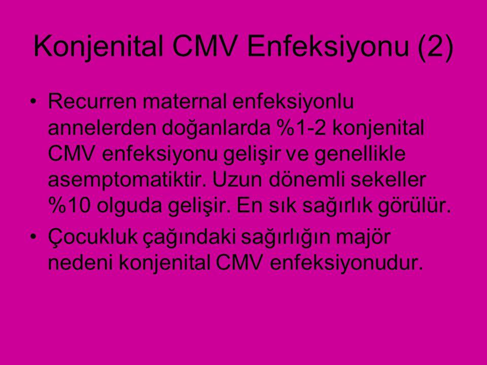Konjenital CMV Enfeksiyonu (2)