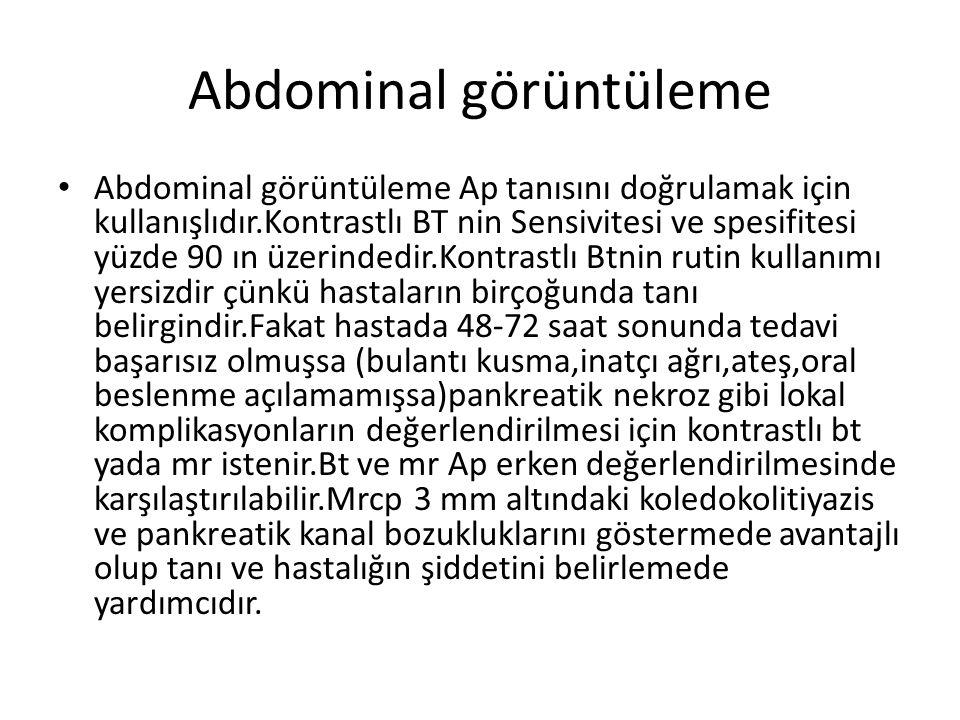 Abdominal görüntüleme